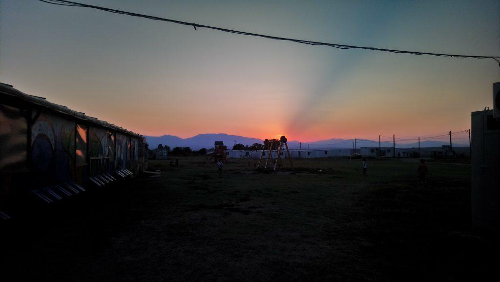 Sonnenuntergang Nea Kavala