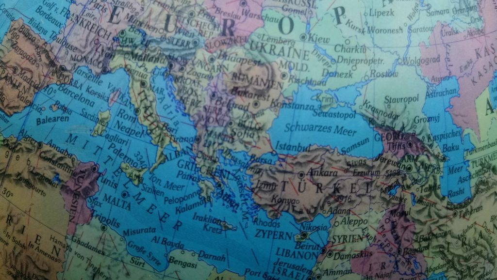 Karte Herkunftsländer