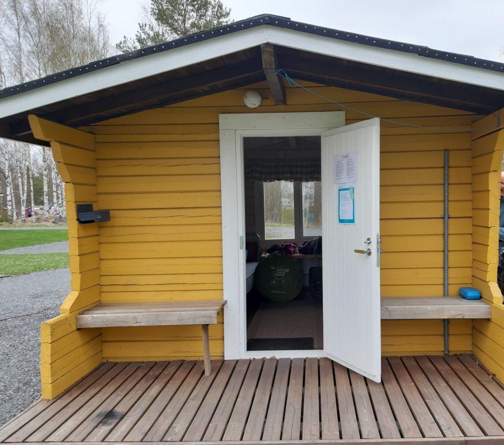 Hütte für Wanderer