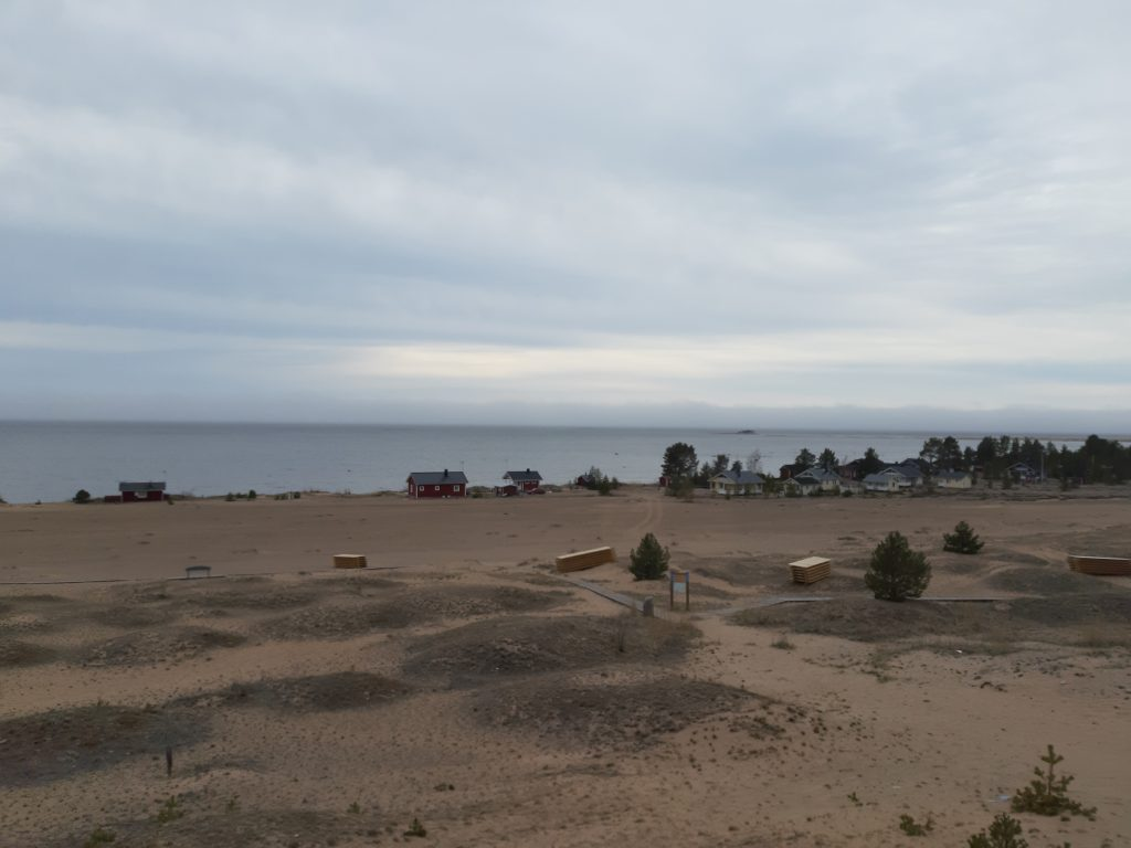 Strand in Kalajoun, 11. Mai - Die Küstenroute