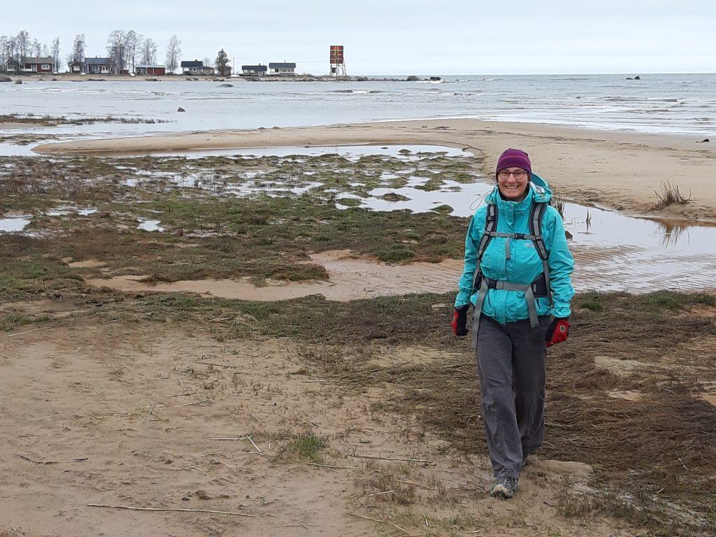Strandwanderung in Kalajoun, 12. Mai - Regenpause
