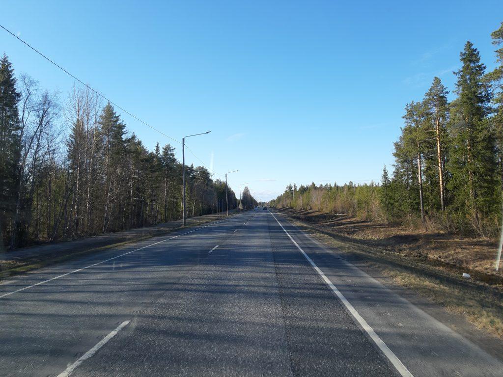 15. Mai - kurz vor Lappland
