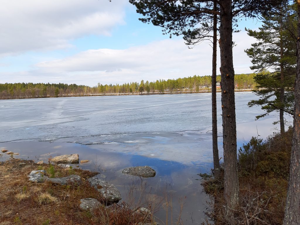 See in Lappland, Skigebiete