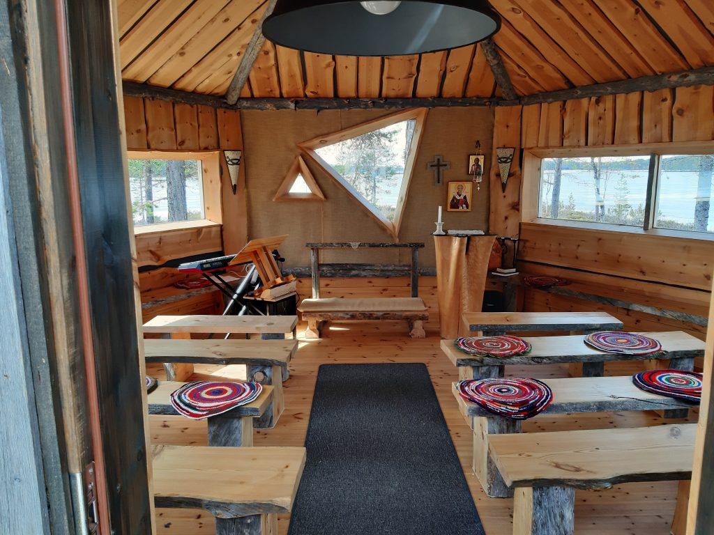 Kirche in Lappland, Skigebiete
