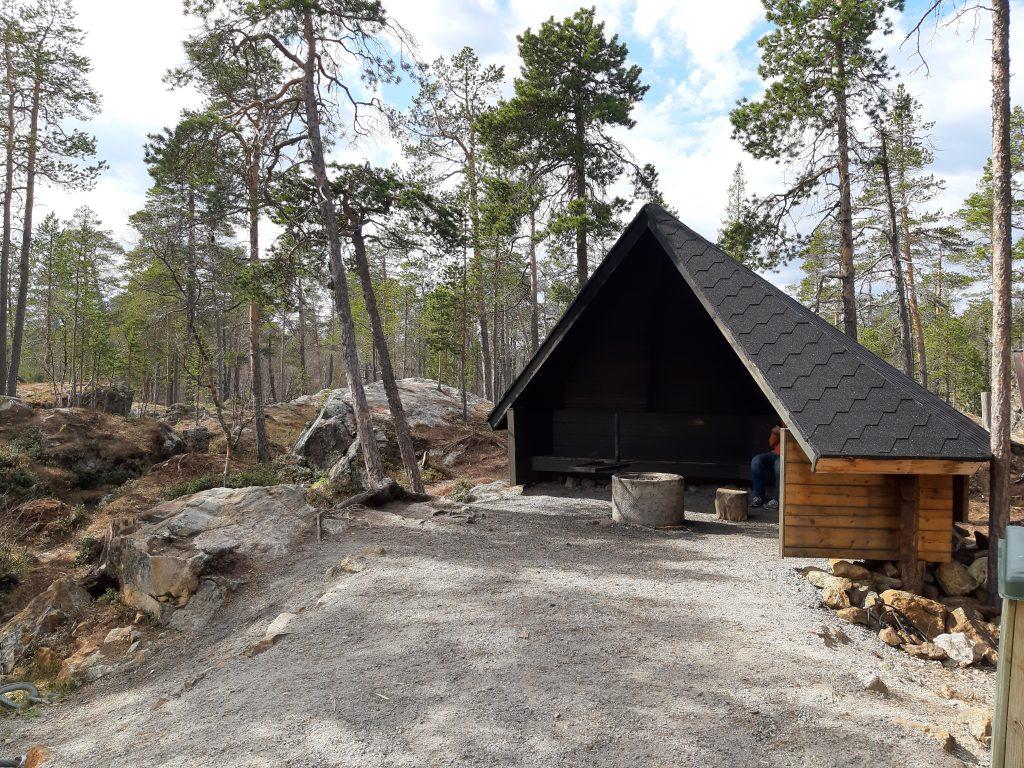 20. Mai - Inari, Grillhütte