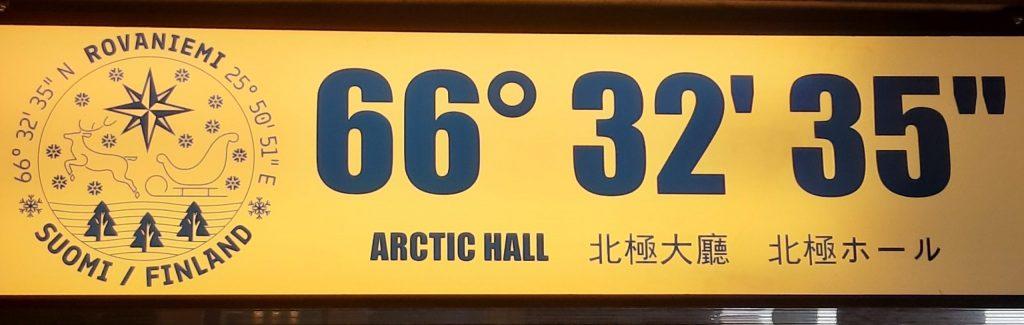 Koordinaten Polarkreis