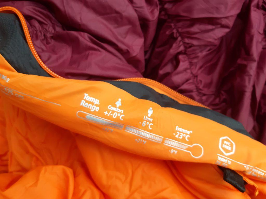Neue Schlafsäcke für die Reise